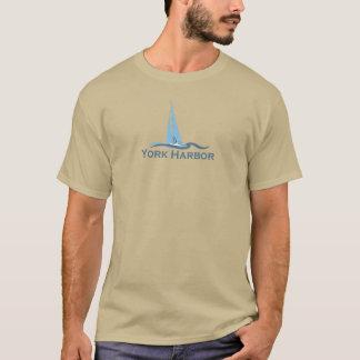 ヨーク港-メイン Tシャツ
