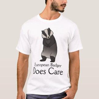 ヨーロッパのアナグマは気になります Tシャツ