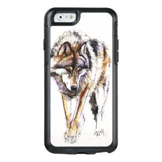 ヨーロッパのオオカミ オッターボックスiPhone 6/6Sケース