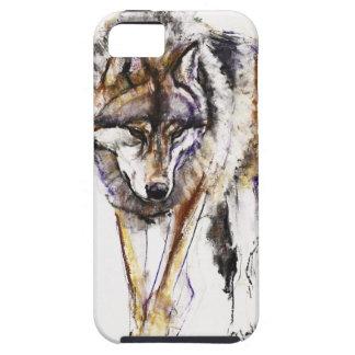 ヨーロッパのオオカミ iPhone SE/5/5s ケース