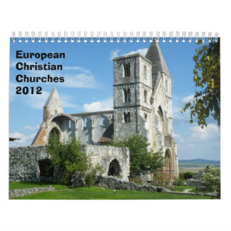 ヨーロッパのキリスト教会2012年 カレンダー