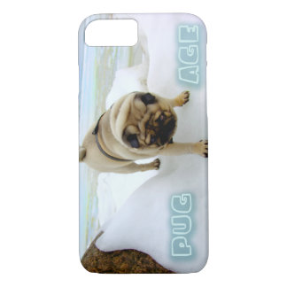ヨーロッパのパグの氷河期のiPhone 7の場合 iPhone 8/7ケース