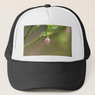 ヨーロッパのブルーベリー薮の花 キャップ