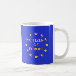 ヨーロッパのマグの市民 コーヒーマグカップ