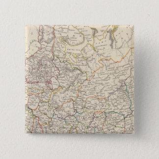 ヨーロッパの一般図のロシア 5.1CM 正方形バッジ