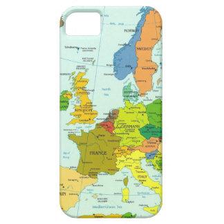ヨーロッパの地図 iPhone SE/5/5s ケース