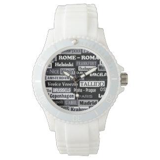 ヨーロッパの旅行者のカスタムの腕時計 腕時計