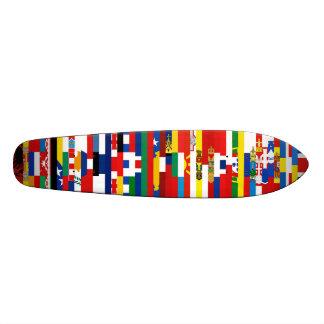 ヨーロッパの旗のスケートボード スケートボードデッキ