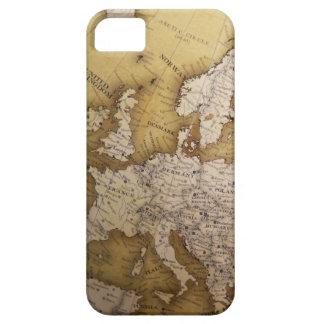 ヨーロッパの旧式な地図。 旧世界 iPhone SE/5/5s ケース