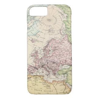 ヨーロッパの東半球 iPhone 8/7ケース