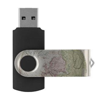ヨーロッパの東半球 USBフラッシュドライブ