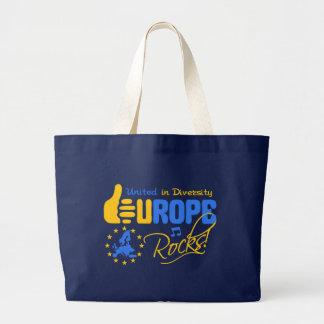 ヨーロッパの石! バッグ-スタイル及び色を選んで下さい ラージトートバッグ