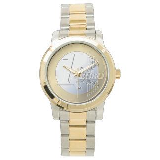 ヨーロッパの硬貨の腕時計 腕時計