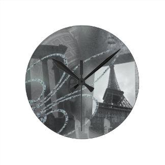 ヨーロッパの芸術の時計 ラウンド壁時計