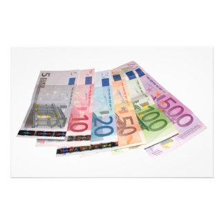 ヨーロッパの銀行券 便箋