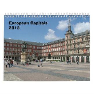 ヨーロッパの首都- 2013年 カレンダー