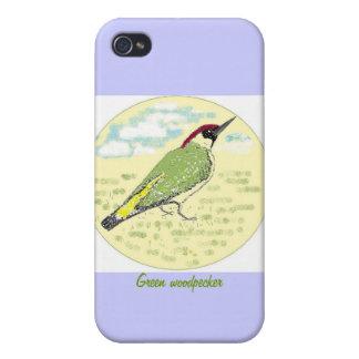 ヨーロッパアオゲラ iPhone 4/4Sケース