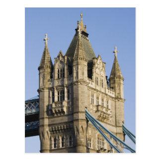 ヨーロッパイギリス、ロンドン: タワー橋/遅く ポストカード