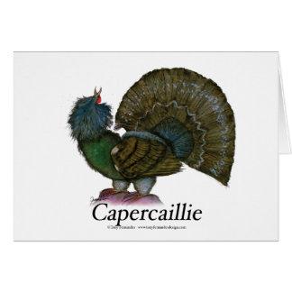 ヨーロッパオオライチョウ、贅沢なfernandes グリーティングカード