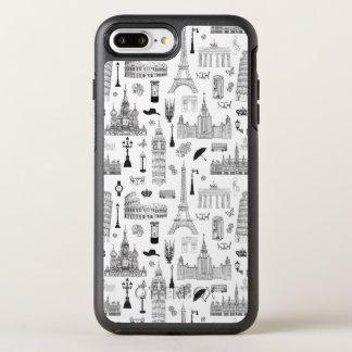 ヨーロッパパターンの休暇 オッターボックスシンメトリーiPhone 8 PLUS/7 PLUSケース