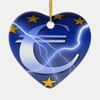 ヨーロッパ旗 セラミックオーナメント