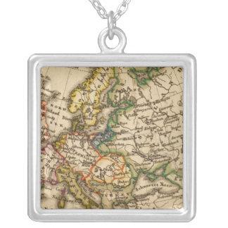 ヨーロッパ12 シルバープレートネックレス
