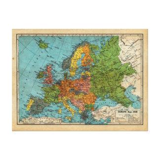 ヨーロッパ1938年 キャンバスプリント