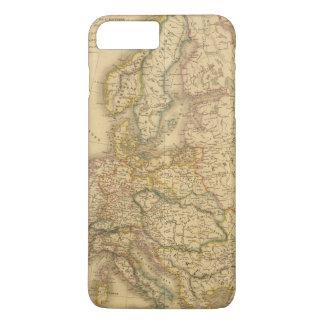ヨーロッパ2の地図 iPhone 8 PLUS/7 PLUSケース