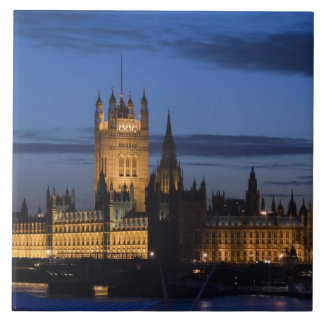 ヨーロッパ、イギリス、ロンドン: 議会の家/ タイル