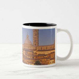 ヨーロッパ、イタリア、タスカニー、シエナ。 13世紀3 ツートーンマグカップ