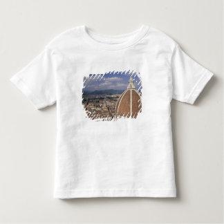 ヨーロッパ、イタリア、タスカニー、フィレンツェ。 広場のdel トドラーTシャツ