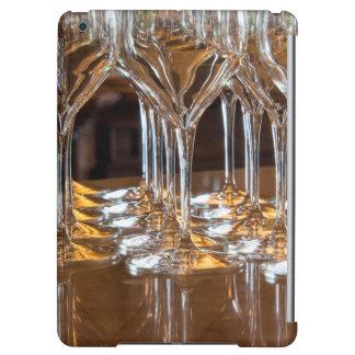 ヨーロッパ、イタリア、タスカニー。 ワイナリーのワイングラス