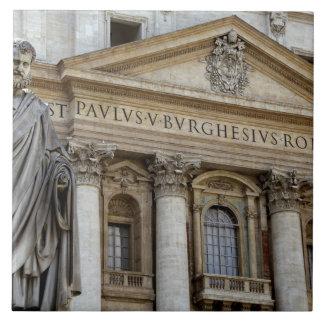 ヨーロッパ、イタリア、ローマ。 セントピーターのバシリカ会堂(別名2 タイル