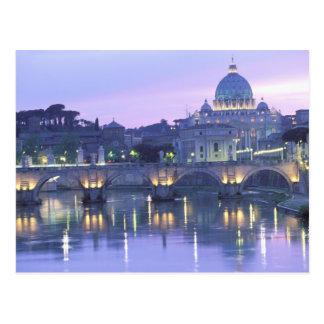 ヨーロッパ、イタリア、ローマ、バチカン。 セントピーター及び ポストカード