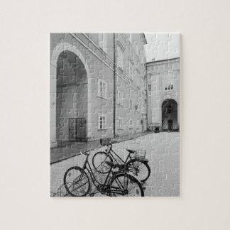 ヨーロッパ、オーストリア、ザルツブルク。 の自転車 ジグソーパズル