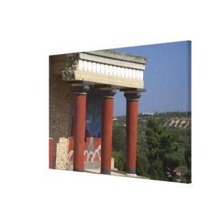 ヨーロッパ、ギリシャ、クレタ(別名Kriti)、イラクリオン キャンバスプリント
