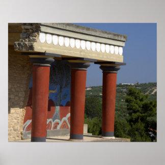 ヨーロッパ、ギリシャ、クレタ(別名Kriti)、イラクリオン ポスター
