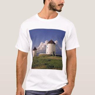 ヨーロッパ、ギリシャ、Mykonos。 水漆喰を塗られる Tシャツ
