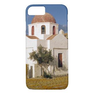 ヨーロッパ、ギリシャ、Mykonos。 漁網はで乾燥します iPhone 8/7ケース