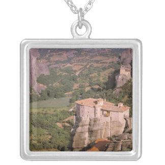 ヨーロッパ、ギリシャ、Thessaly、Meteora、Kastraki. シルバープレートネックレス