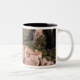 ヨーロッパ、ギリシャ、Thessaly、Meteora、Kastraki. ツートーンマグカップ