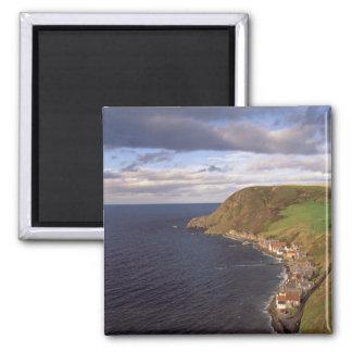 ヨーロッパ、スコットランド、アバディーン。 頭上式の眺めの マグネット