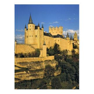 ヨーロッパ、スペイン、セゴビア。 印象的なAlcazar、 ポストカード