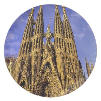 ヨーロッパ、スペイン、バルセロナ、Sagrada Familia プレート