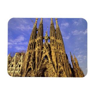 ヨーロッパ、スペイン、バルセロナ、Sagrada Familia マグネット