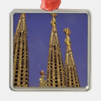 ヨーロッパ、スペイン、バルセロナSagrada Familia メタルオーナメント