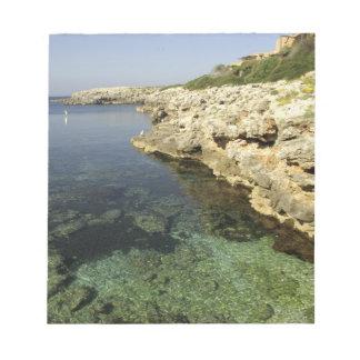 ヨーロッパ、スペイン、Minorca (別名Menorca)、Binibeca. ノートパッド