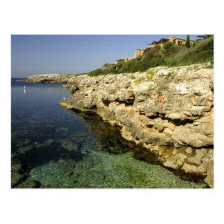 ヨーロッパ、スペイン、Minorca (別名Menorca)、Binibeca。 2 ポストカード