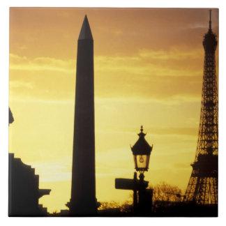 ヨーロッパ、フランス、パリの場所deコンコルド タイル
