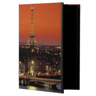 ヨーロッパ、フランス、パリ。 エッフェルの日没の眺め iPad AIRケース